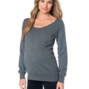 SOLOW for A Pea In The Pod Maternity Sweatshirt